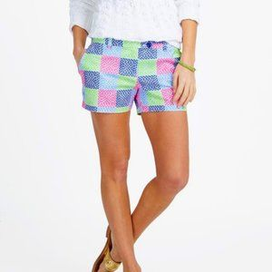 Vineyard Vines Whale Patchwork Multicolor Shorts